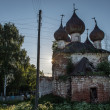 Dilapidated orthodox church in Nizhny Novgorod region, Russia — Photo
