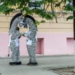 Urban scene from Nizhniy Novgorod city life, Russia — Stock Photo #26945433
