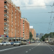 Street of Novgorod city, Russia — Stock Photo