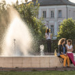 Stock Photo: Fountain in Vladimir city, Russia