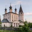 Orthodox russian temple — Stockfoto