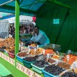 Market in Kostroma, Russia — Stock Photo #26945761