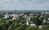 Vologda bird's eye view — Stock Photo