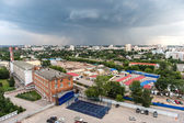 Urban landscape of Nizhny Novgorod, Russia — Stock Photo