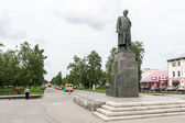 Monument to Lenin in Vologda, Russia — Stock Photo