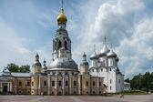 Oude orthodoxe kerken in vologda, rusland — Stockfoto