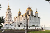 Uspenskiy cathedral at Vladimir — Stock Photo