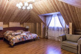 Timber suite in old russian style — Stock Photo