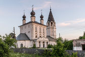 Orthodox russian temple — Stock Photo
