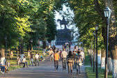 Park in Vladimir, Russia — Stock Photo