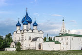 Cathedral ov Nativity in Suzdal kremlin, Russia — Stock Photo