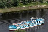 Passanger boat in Vologda, Russia — Stock Photo
