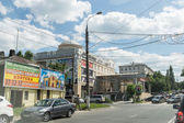 Streets of Vladimir city, Russia — Stock Photo