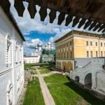 Ancient gallery in Rostov kremlin — Stock Photo