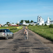 Panoramic view of ancient town Pereslavl, Russia — Stock Photo