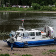 Stock Photo: Hovercraft on shore, Yaroslavl, Russia