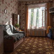 Stock Photo: Traditional interior of typical soviet apartment