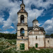 Old dilapidated church in Rostov, Russia — Stockfoto