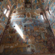 Wall painting in Rostov cathedral, Russia — Stock Photo