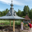 St. Varvara holy spring in Russia — Stock Photo #26952341