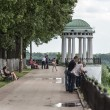 Stock Photo: Embankment in Yaroslavl, Russia
