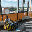 Stock Photo: Observation point in business center of Yaroslavl, Russia