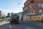 Rural life of Pereslavl town, Russia — Stock Photo
