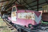 Narrow gauge railway museum in Pereslavl, Russia — Stock Photo