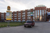Hotel in russian Town of Pereslavl — Stock Photo