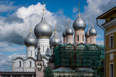View of kremlin in Rostov town, Russia — Stock Photo