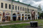 街头的俄罗斯小镇罗斯托夫 — 图库照片