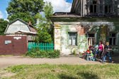Old building in Rostov town, Russia — Stock Photo