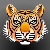 Realistic Tiger — Stock Vector