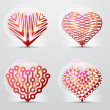 Original heart symbols (icons, signs). — Stock Vector #18727639