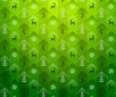 Christmas green background — Stock Vector