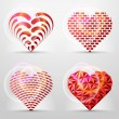Original heart signs (icons, symbols) — Stock Vector