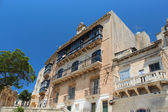Mdina street at sunny day with blue sky — Stock Photo