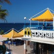 McDonald's on Maltese coast — Stock Photo