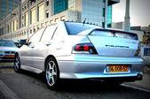 Mitsubishi Lancer Evolution — Stock Photo