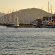 Turkish seatown Marmaris - Stock Photo