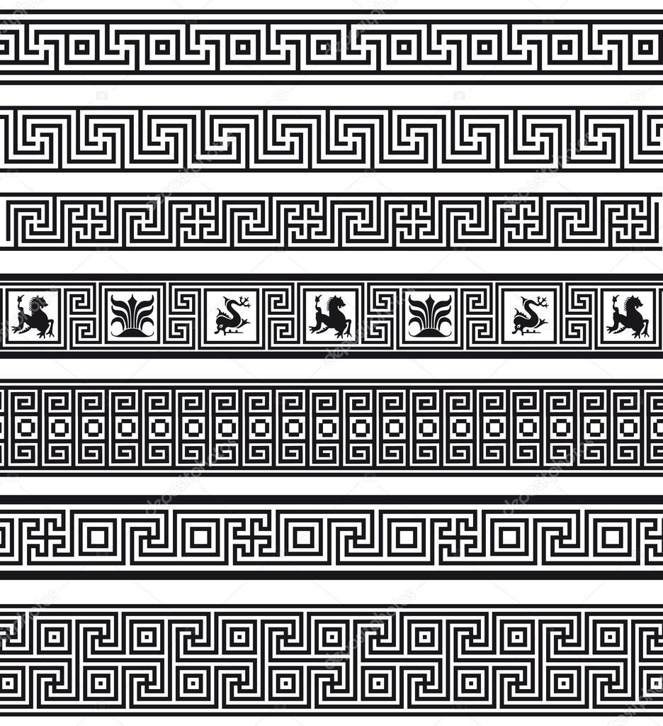 Wz r grecki grafika wektorowa kinanik 26477447 for Le greche decorazioni