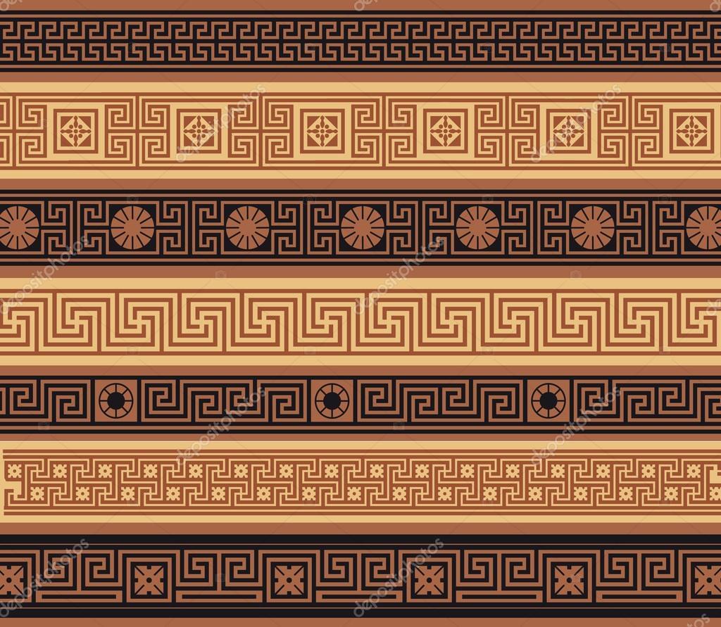 griechische muster farbig stockvektor kinanik 26477451. Black Bedroom Furniture Sets. Home Design Ideas