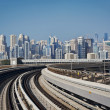 Stock Photo: Dubai Metro