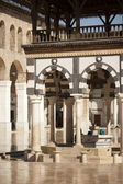 Damascus the big Mosque Damasco moschea Umayyad — Stock Photo