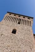 Torrechiara castle parma italië — Stockfoto