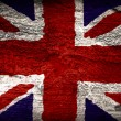 British flag painted — Stock Photo