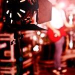 Rock musician — Stock Photo