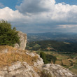 Beautiful Landscapes at Bismantova Stone — Stok fotoğraf