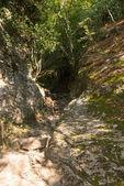 Schöne landschaften bismantova stone — Stockfoto