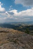 Bellos paisajes en piedra bismantova — Foto de Stock